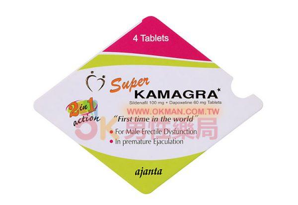 印度雙效超級威而鋼KAMAGRA 4粒